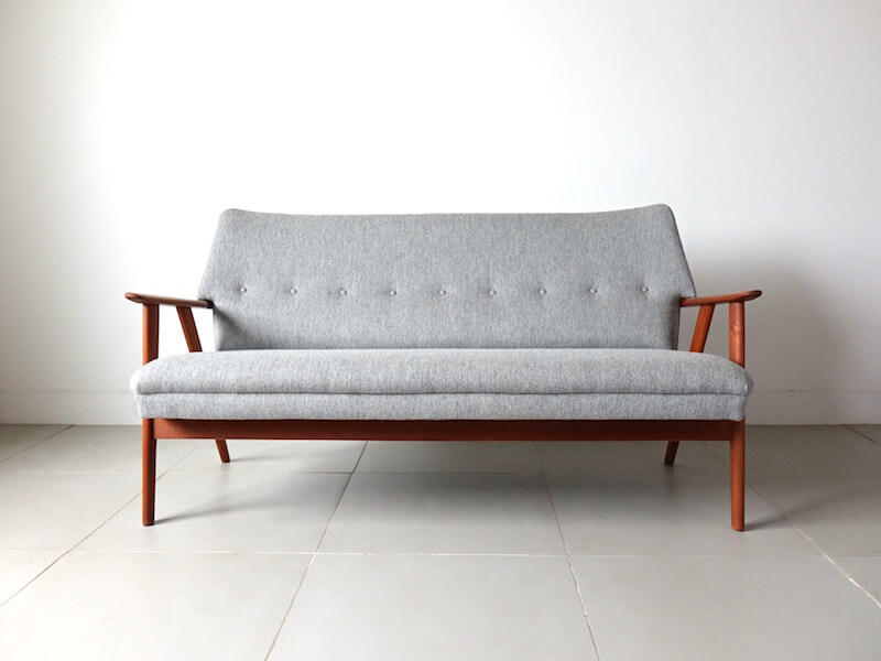 Model.230 sofa by Kurt Olsen for Slagelse Mobelvark