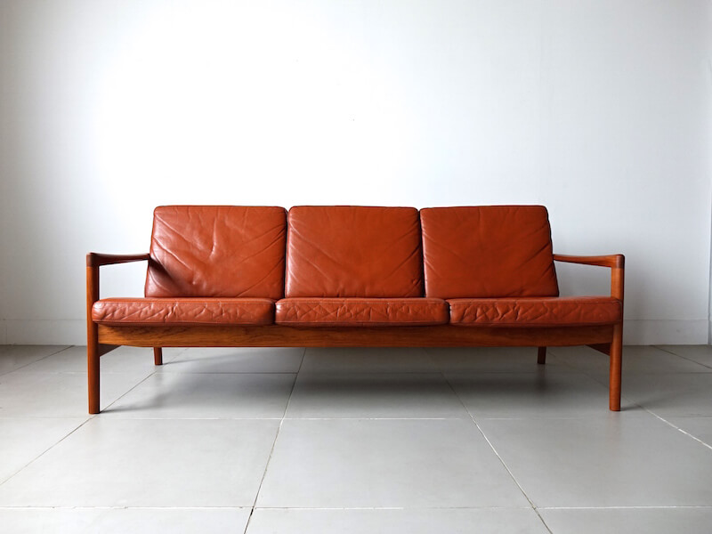 Model.536 sofa by Hans Olsen for Brdr. Juul Kristensen