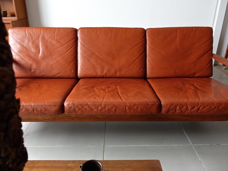 Model.536 sofa by Hans Olsen for Brdr. Juul Kristensen