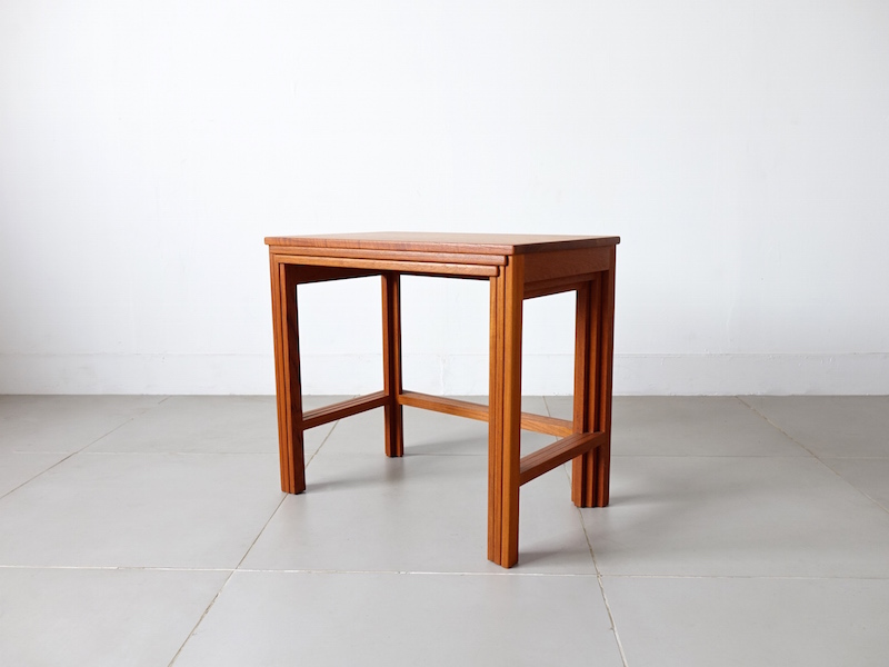 Nesting Tables by Peter Hvidt & Orla Mølgaard Nielsen for France & Søn