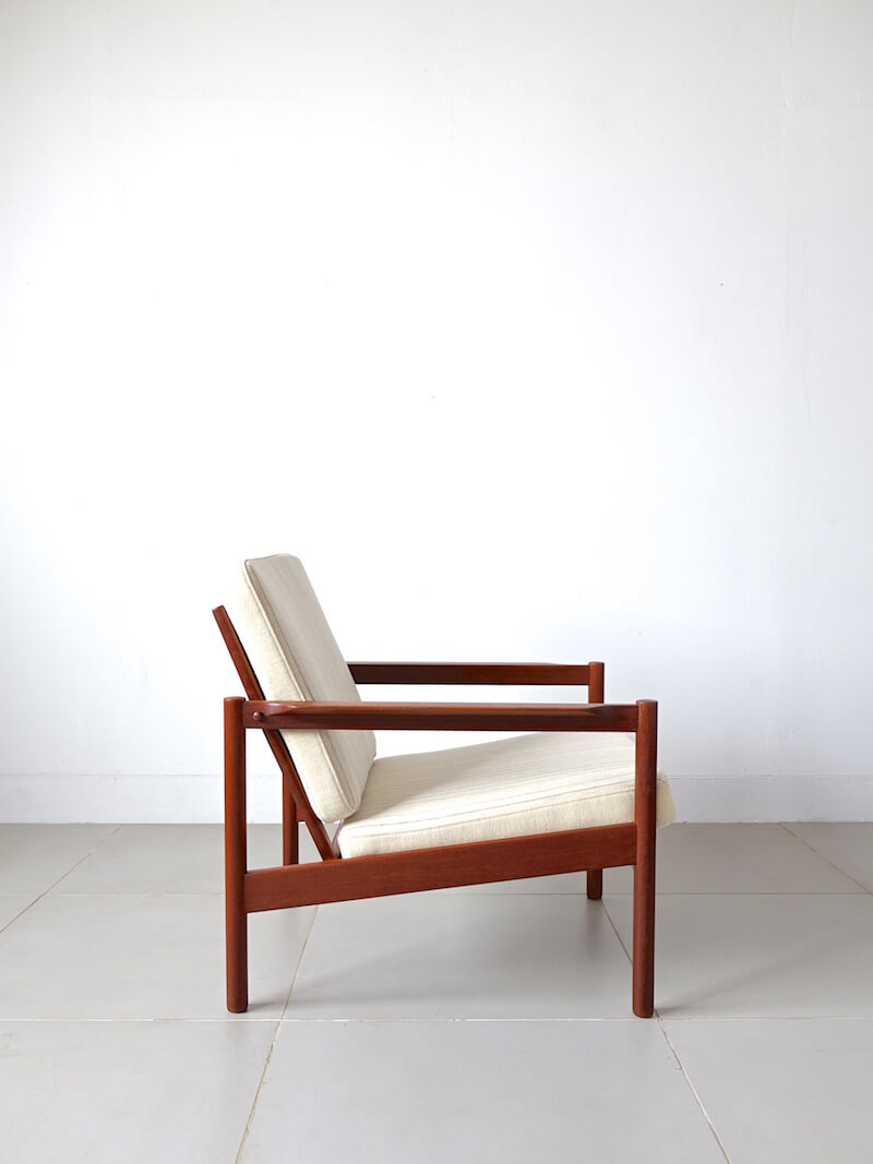 "Eazy chair ""Model.161"" by Kai Kristiansen for Magnus Olesen"