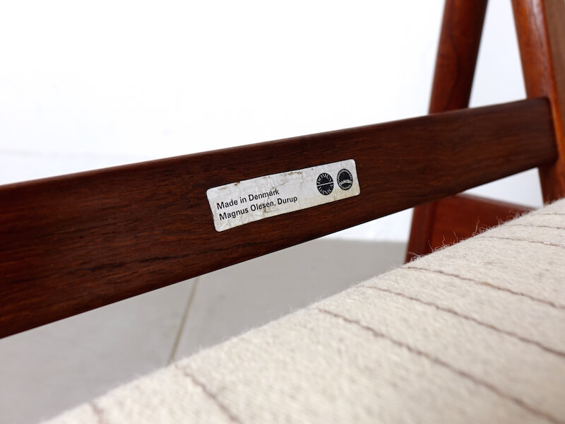 """Eazy chair """"Model.161"""" by Kai Kristiansen for Magnus Olesen"""