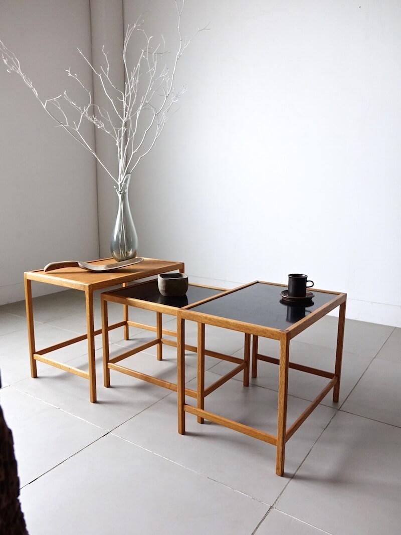 Nesting table by Kurt Ostervig for Jason Møbler