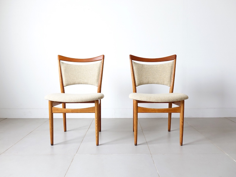 Model.86 Dining chairs by Finn Juhl for Soren Willadsen