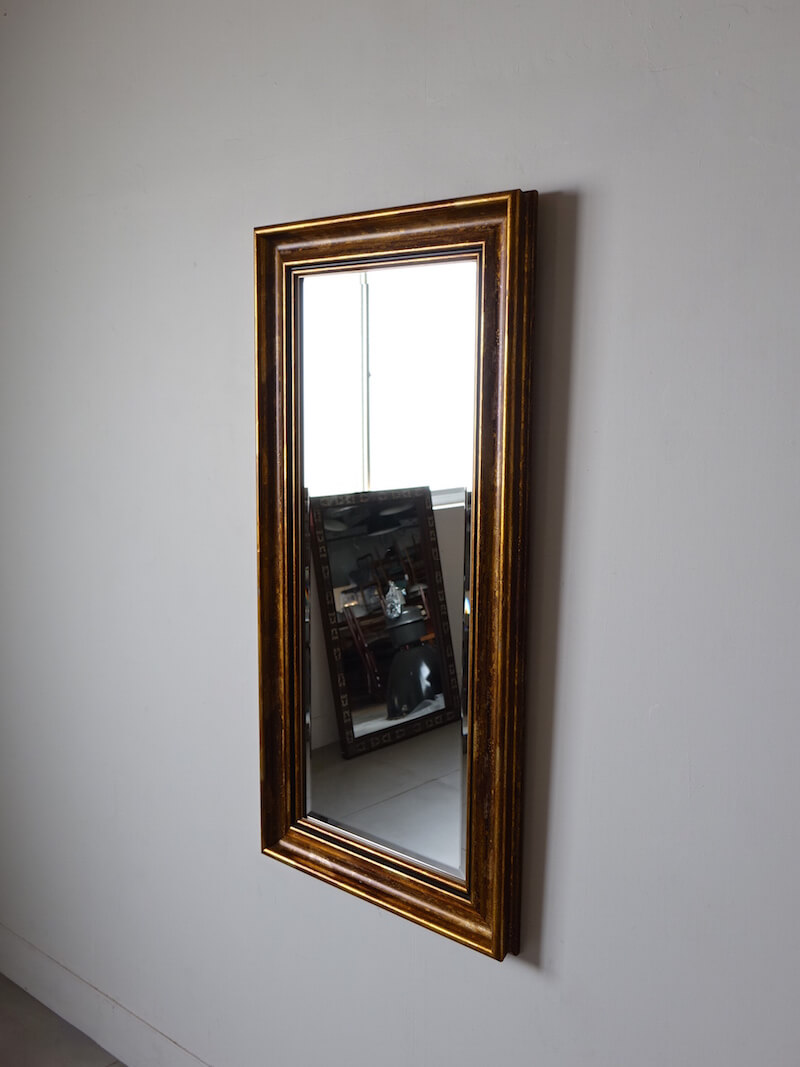 Haggard gold mirror