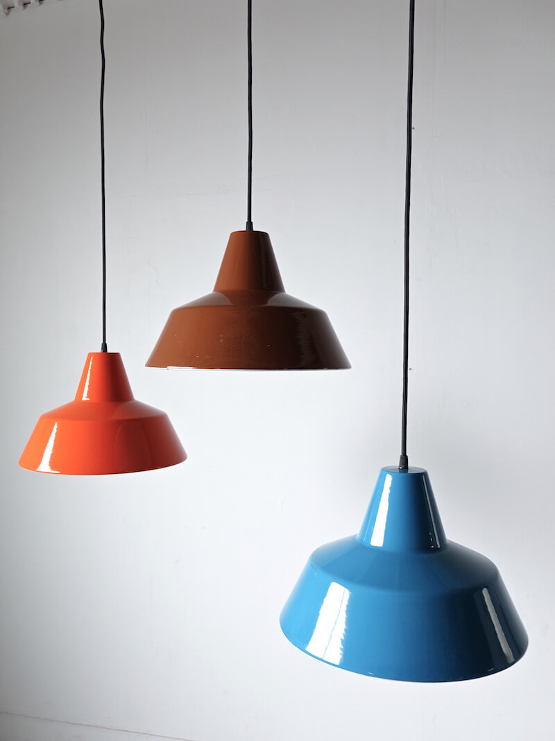 Workshop lamp by Axel Wedel Madsen for Louis Poulsen