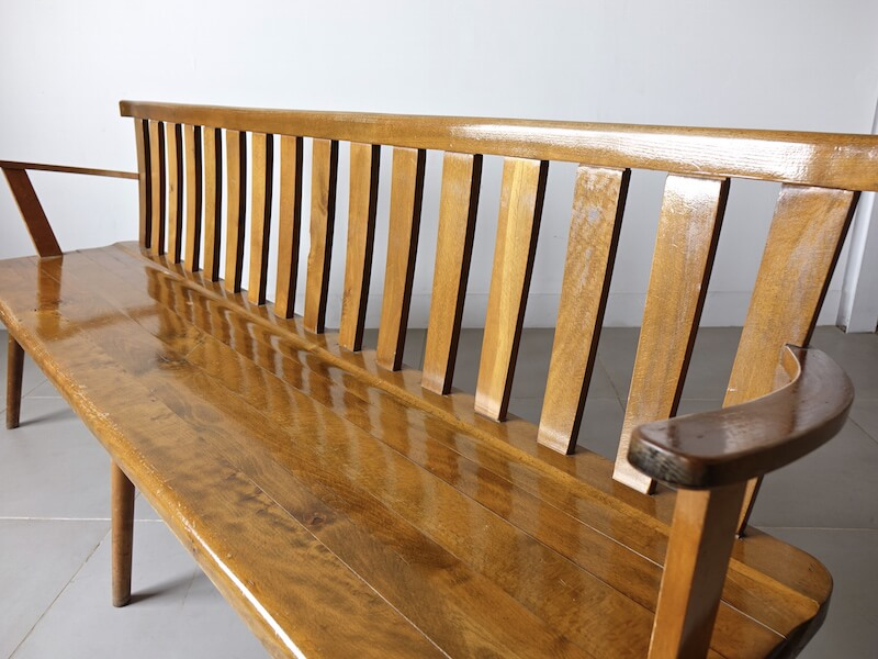 Vintage long bench