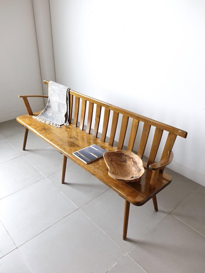 Vintage long bench