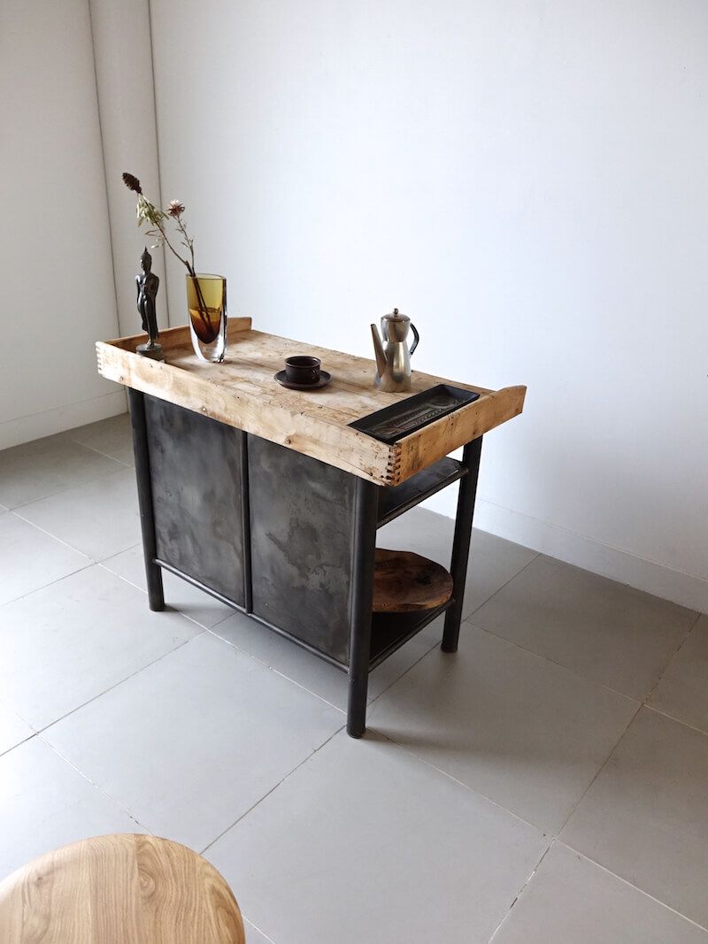 Iron shop cabinet
