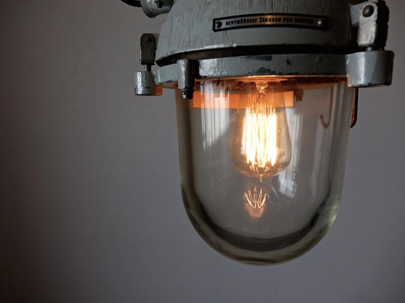 Industrial bunker Lamp