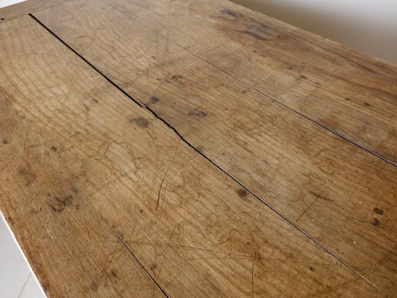 Huge wood shop counter