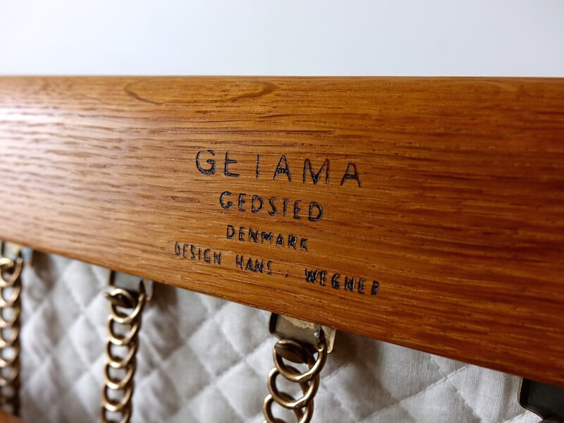 "Sofa ""GE290"" by Hans J. Wegner for GETAMA"