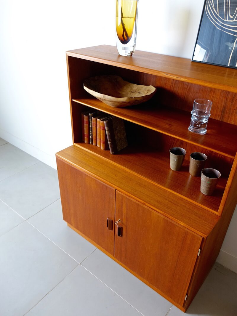 Shelf with Cabinet by Borge Mogensen For Soborg Mobler
