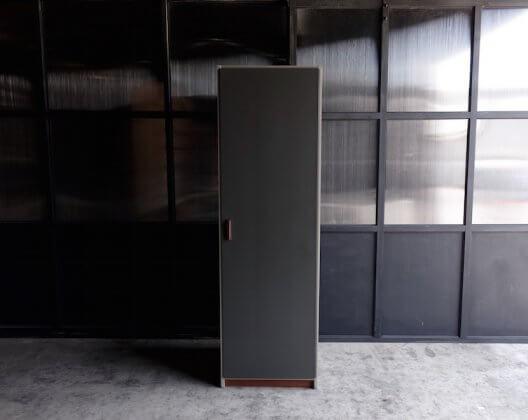 Vintage Gray Door Wardrobe