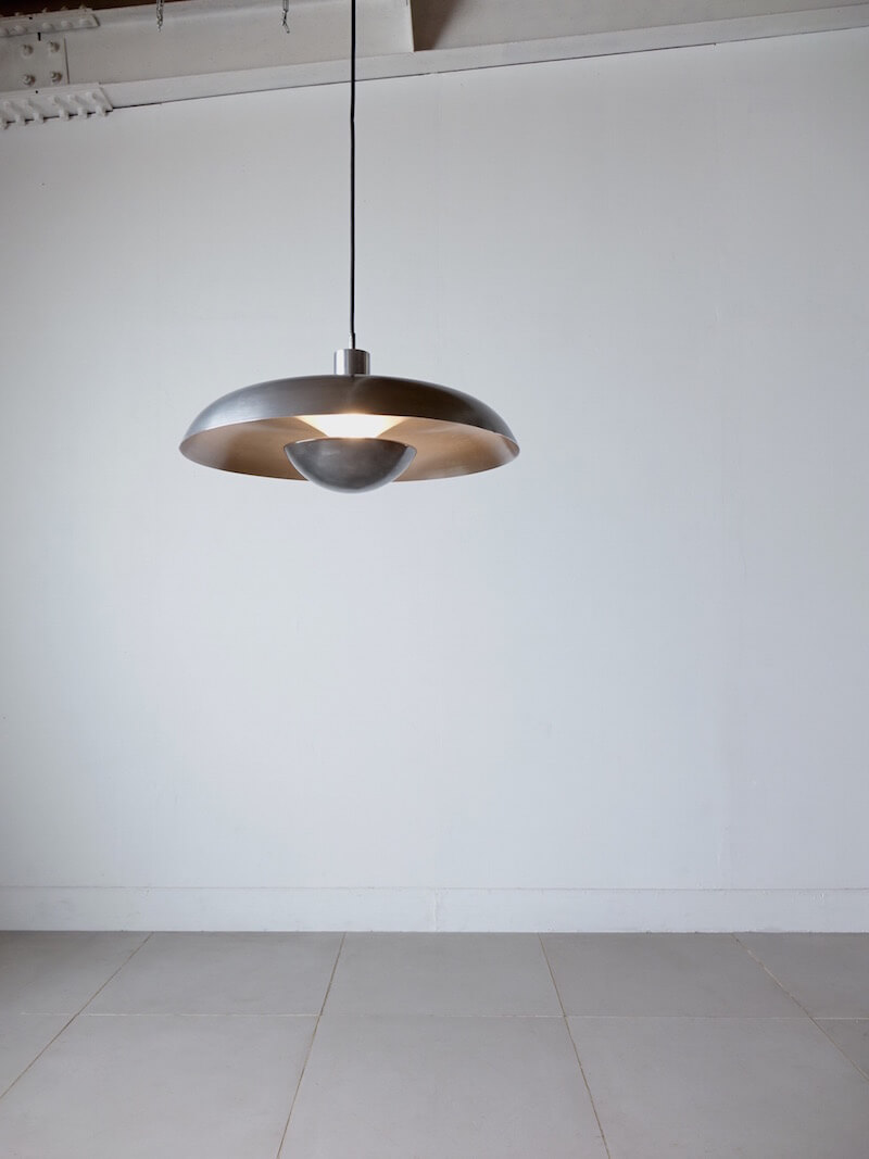 "Pendant Lamp ""RA-24"" by Piet Hein for Lyfa"