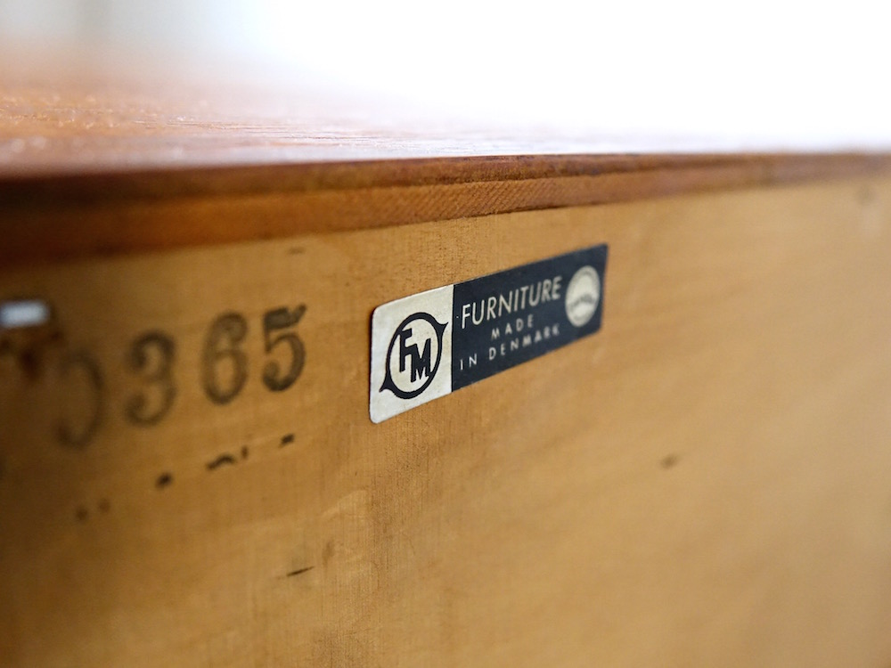 Chest with depth by Kai Kristiansen for Feldballes Møbelfabrik
