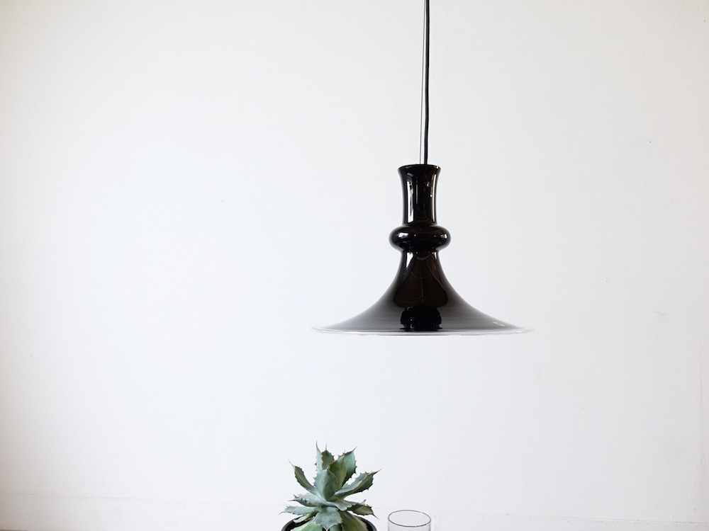 Glass Pendant Lamp Etude by Michael Bang for Holmegaard