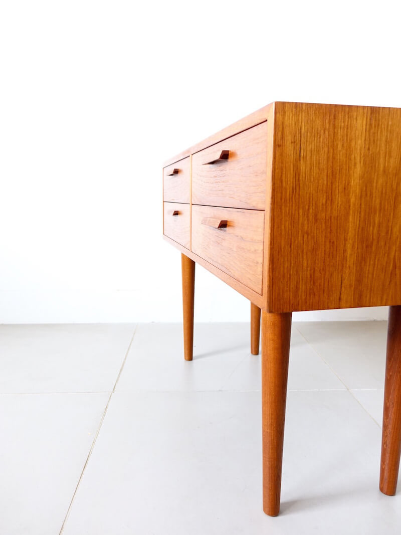 Small chest by Kai Kristiansen for Feldballes Møbelfabrik
