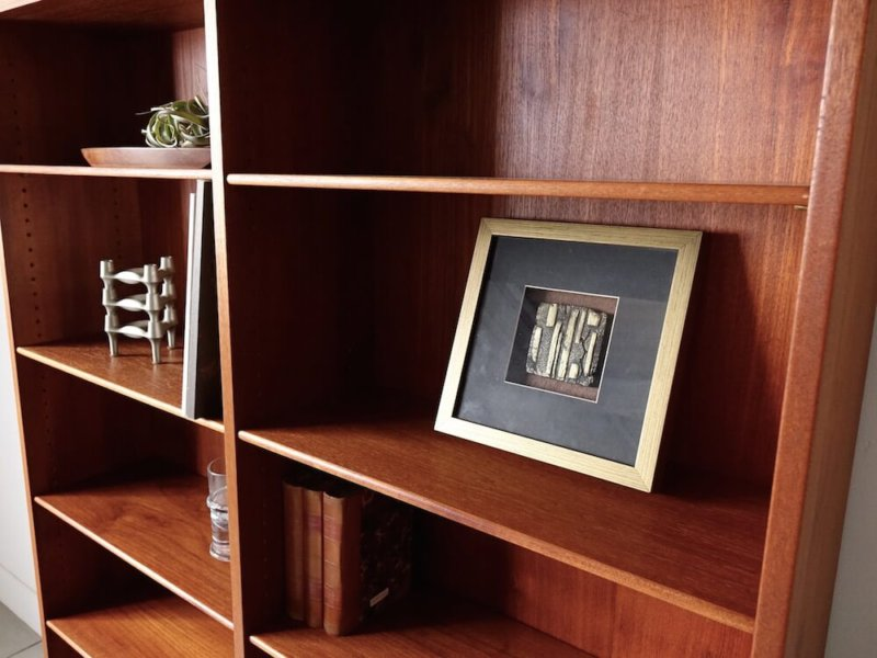 Bookcase in teak / oak by Borge Mogensen for FDB
