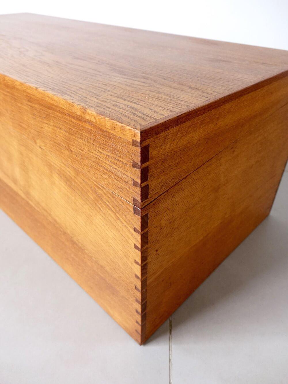 Oak Storage Box