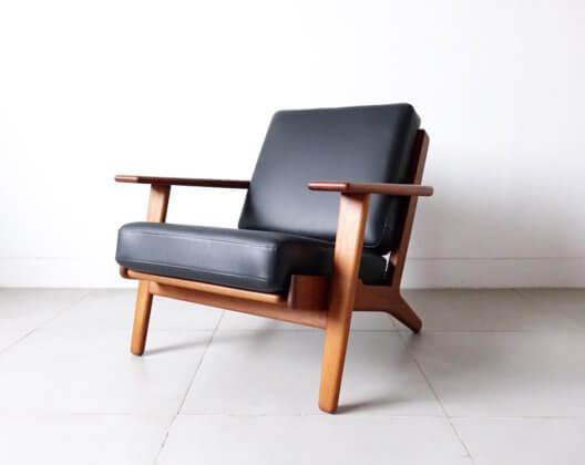 """Eazy chair """"GE290"""" by Hans J. Wegner in teak"""