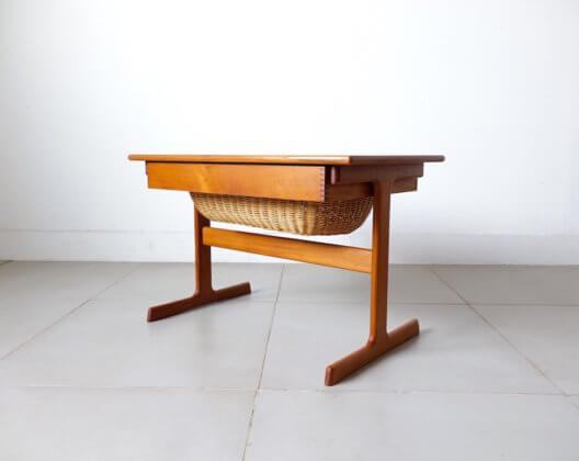 Sewing Table by Kai Kristiansen Vildbjerg Mobelfabrik