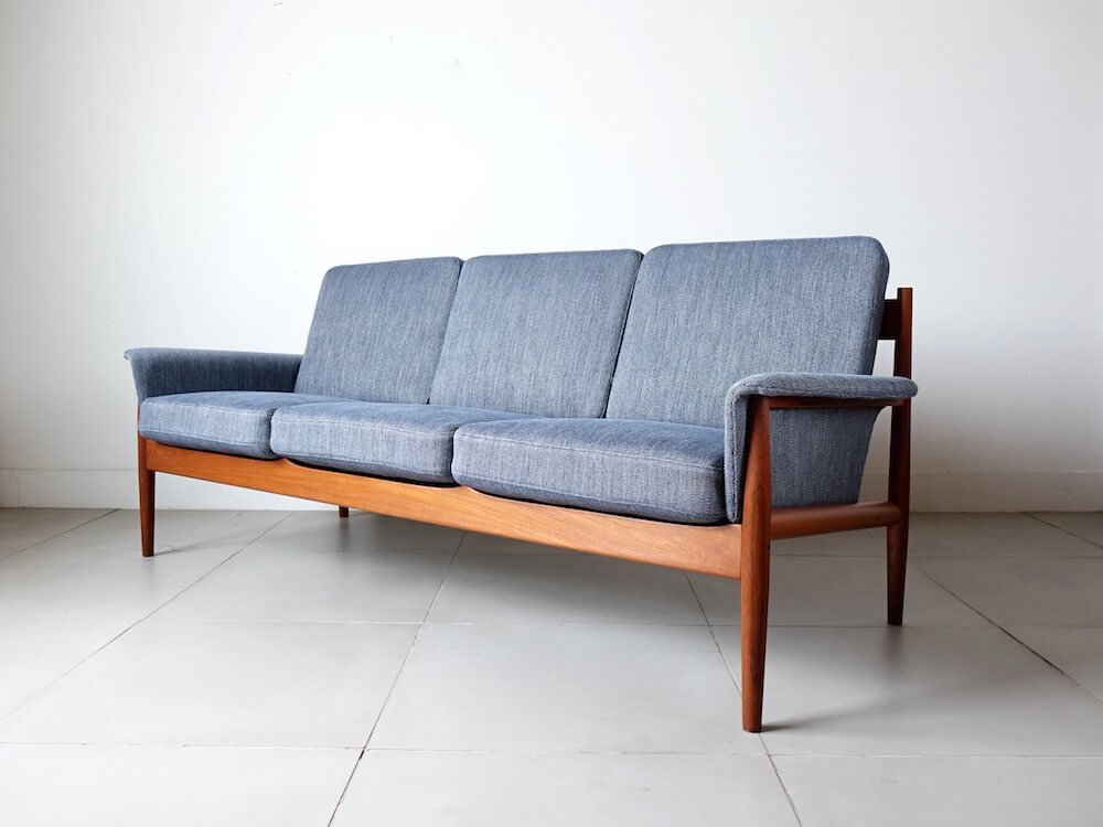Three seat sofa by Grete Jalk for France & Søn
