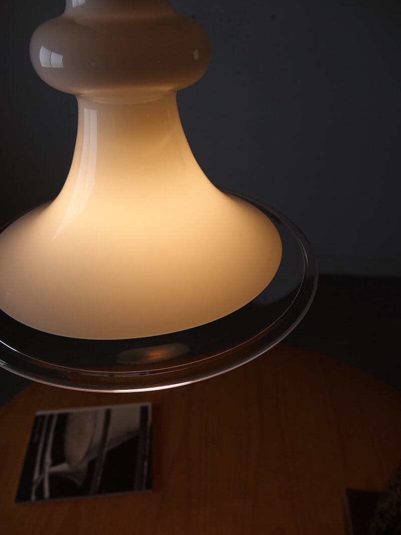 "Opal Glass Lamp ""Etude"" by Michael Bang for Holmegaard"