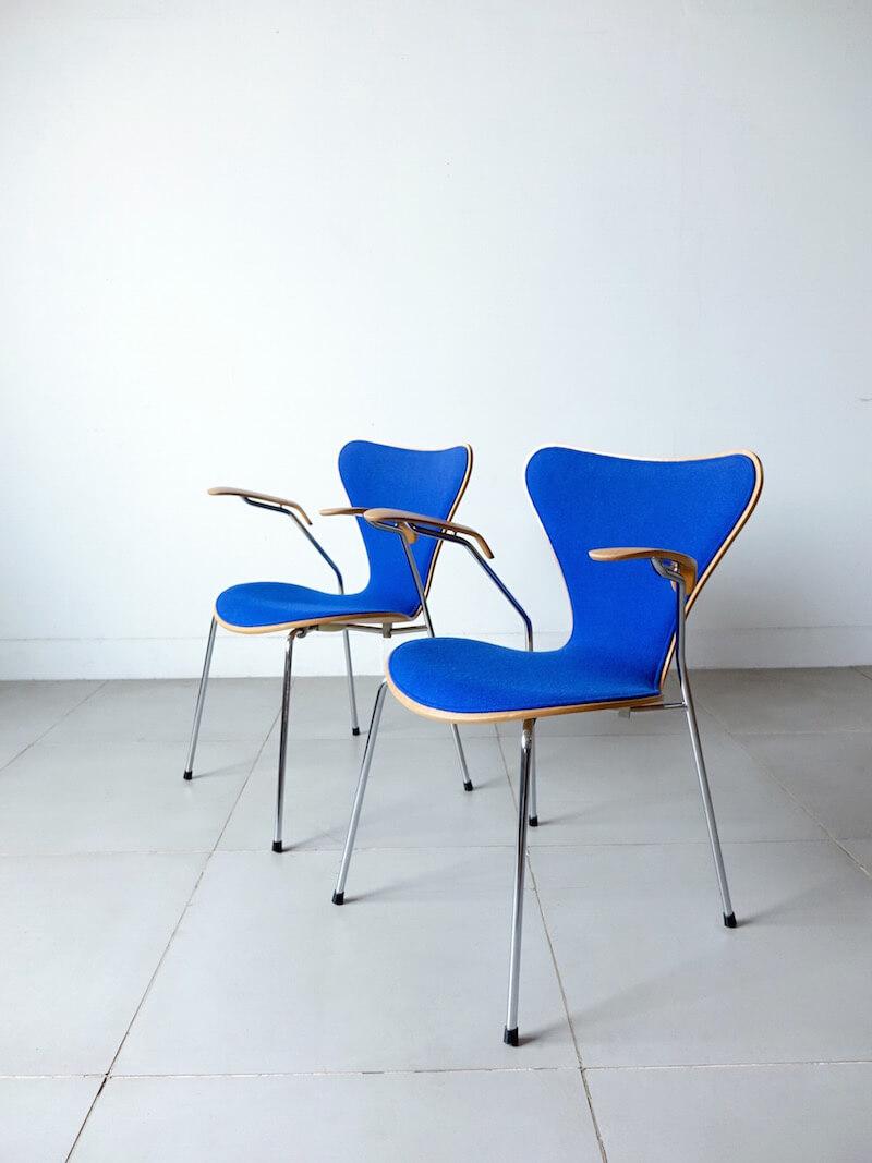 """""""Model.3207"""" Seven Armchair by Arne Jacobsen for Fritz Hansen"""