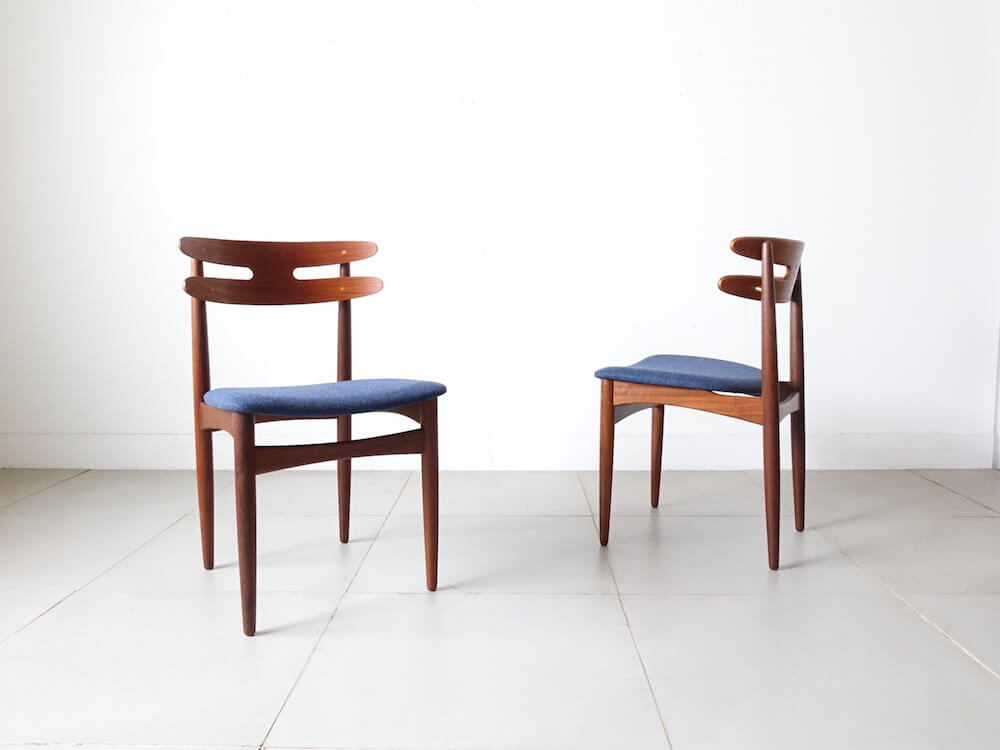 Dining chairs by H.W Klein for Bramin