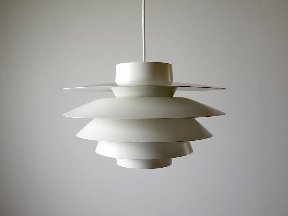 """Verona"" small lamp by Svend Middelboe for Nordisk Solar (white)"