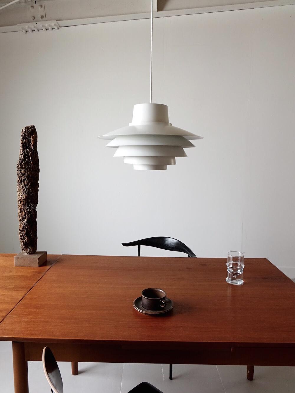 Verona Pendant Lamp by Svend Middelboe for Nordisk Solar (orange)