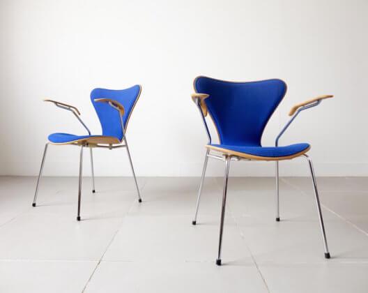 Model.3207 Seven Armchair by Arne Jacobsen for Fritz Hansen