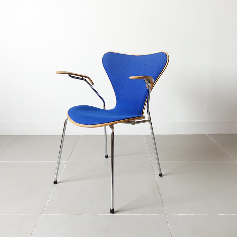 Model.3207 Seven Armchair by Arne Jacobsen for Fritz Hansen