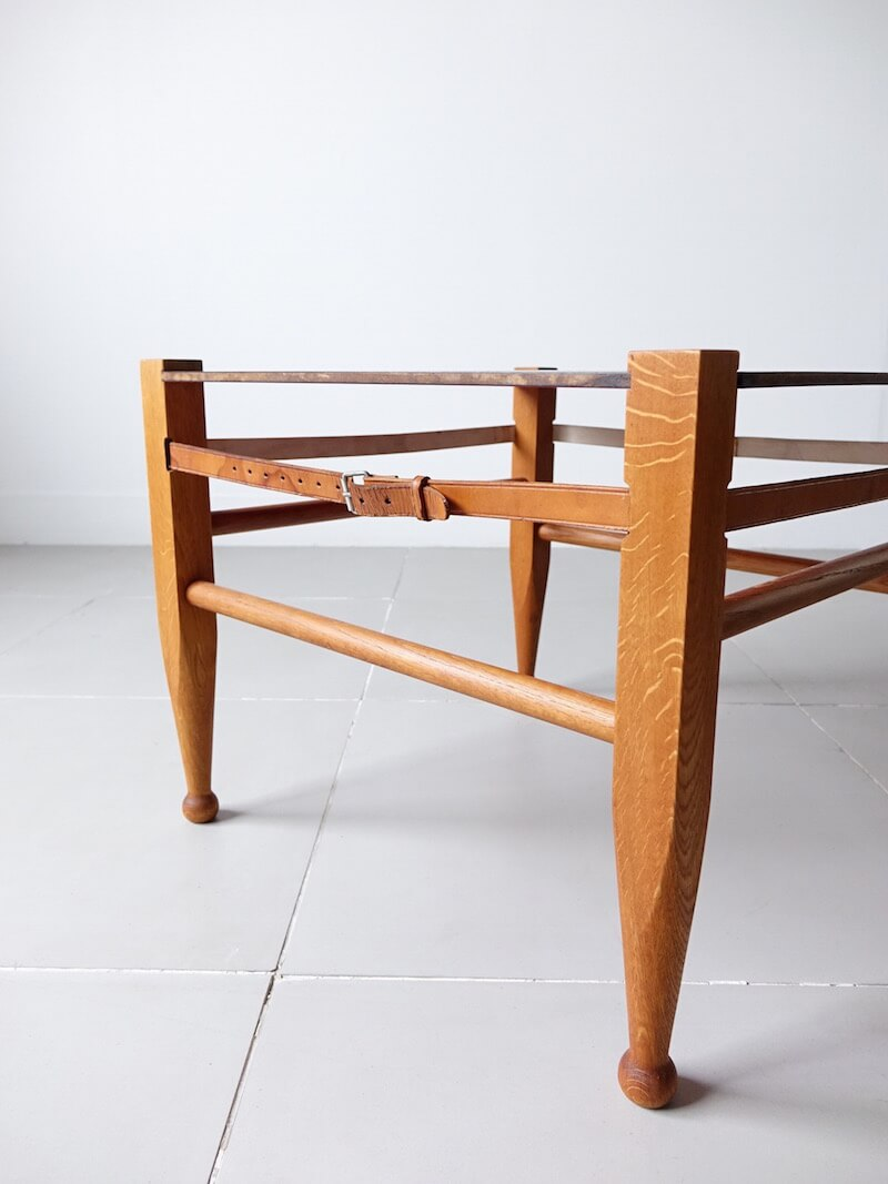 Safari table by by Borge Mogensen for Fredericia