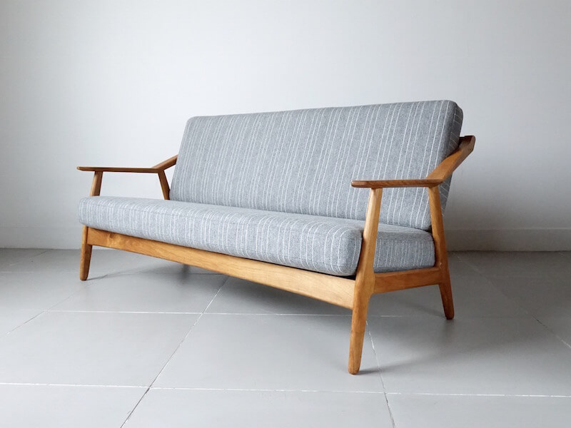 Sofa by H. Brockmann Petersen for Poul M. Jessen