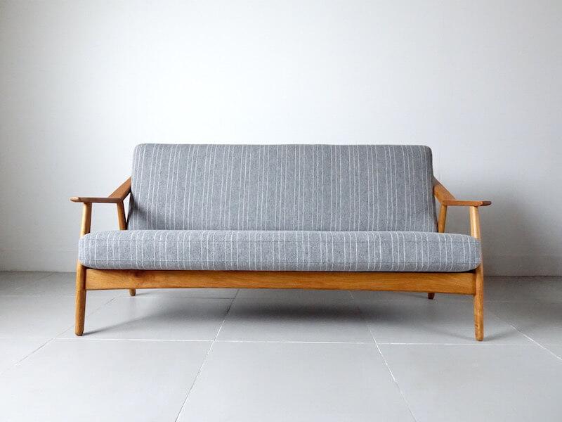 Sofa by H. Brockmann Petersen for Poul M. Jessen