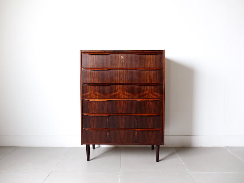 Danish anonymous rosewood chest
