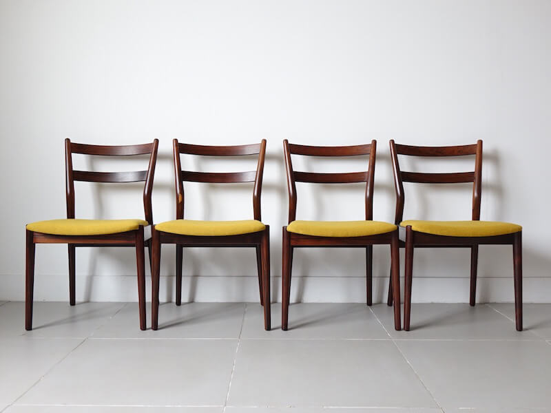 Model.59 Dining chairs by Helge Sibast for SIbast Furnniture