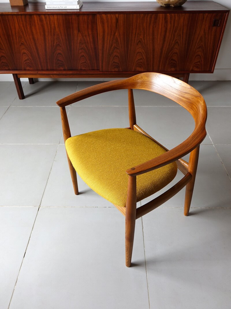 Arm chair by Illum Wikkelsø for Niels Eilersen