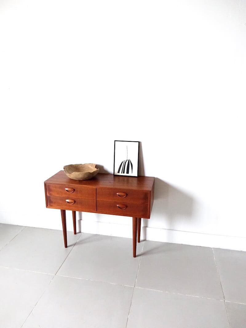 Teak chest by Kai Kristiansen for Feldballes Møbelfabrik