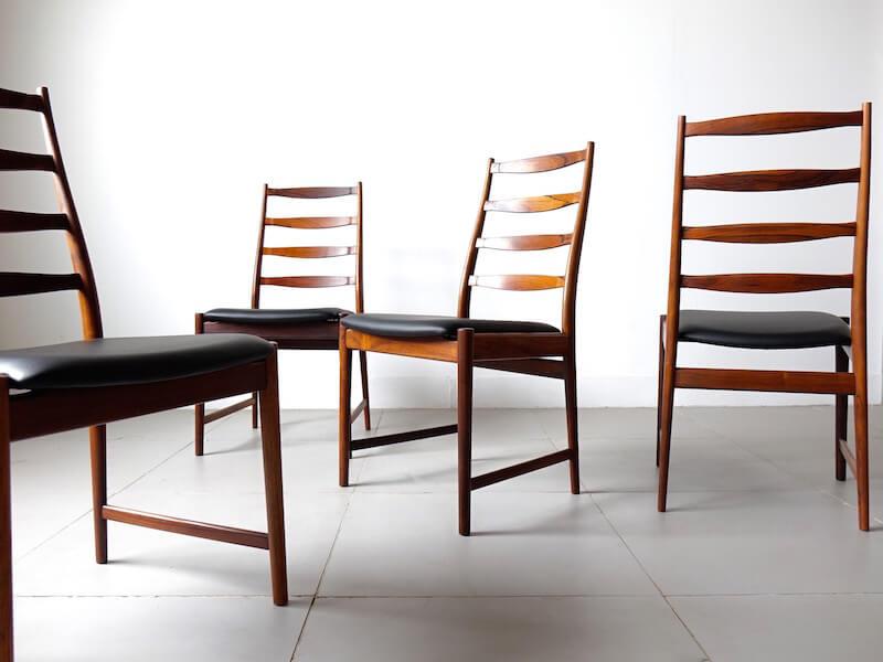 Model.113 dinning chairs by Torbjorn Afdal for Vamo Sonderborg