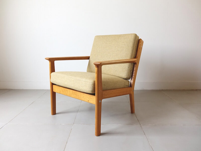 GE265 Eazy chair by Hans J. Wegner for GETAMA