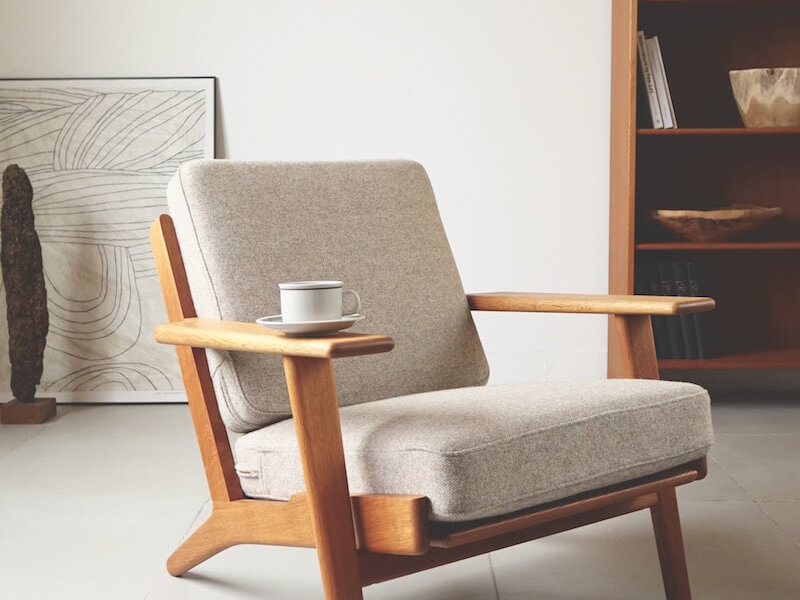 """GE290"" Eazy chair by Hans J. Wegner for GETAMA"