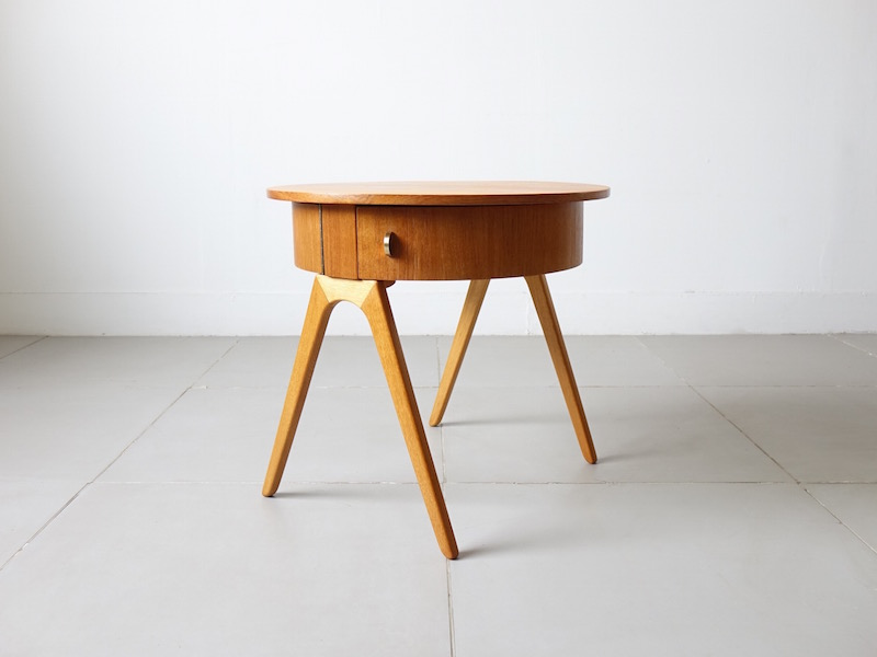 Danish vintage chest table
