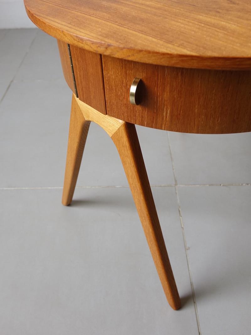 Danish vintage chest table