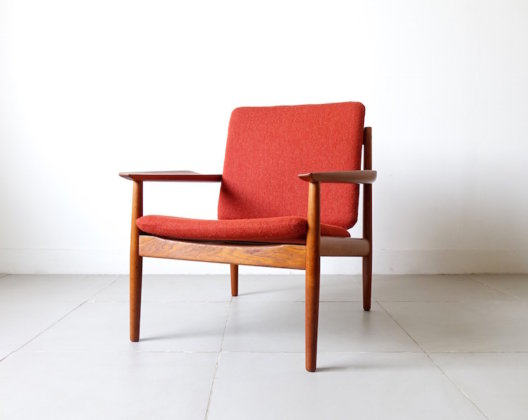 Lounge Chair by Arne Vodder for Glostrup Møbelfabrik