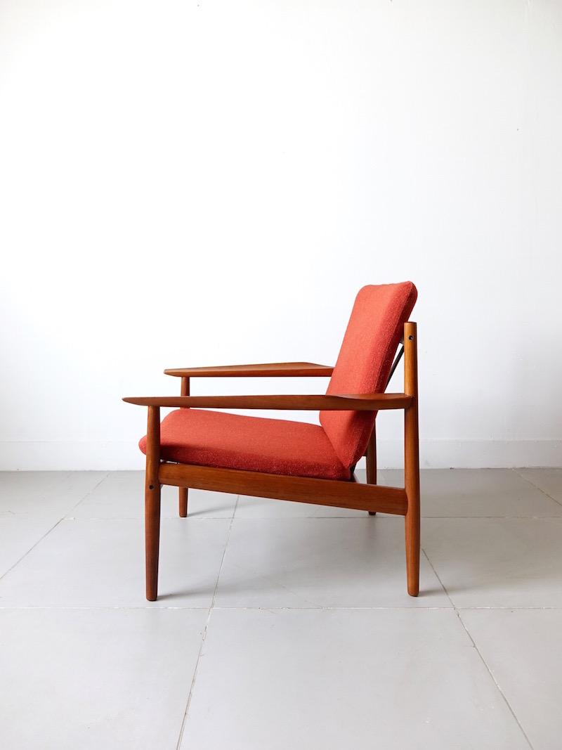 Lounge Chair by Arne Vodder for Glostrup Møbelfabrik