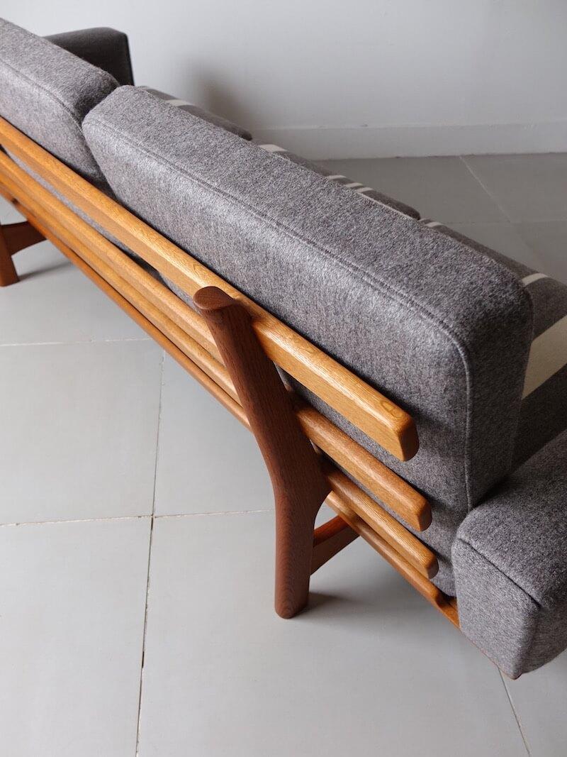 GE236 Sofa by Hans J. Wegner for Getama with Gabriel