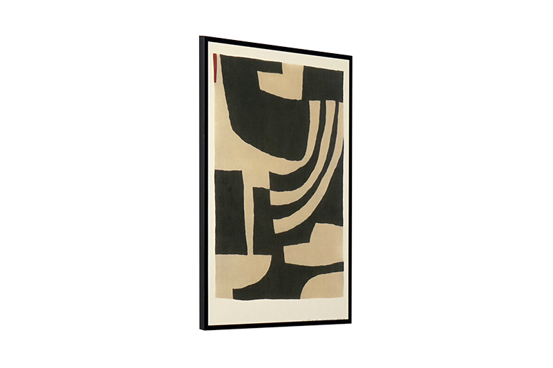 Beige and black with by Leise Dich Abrahamsen